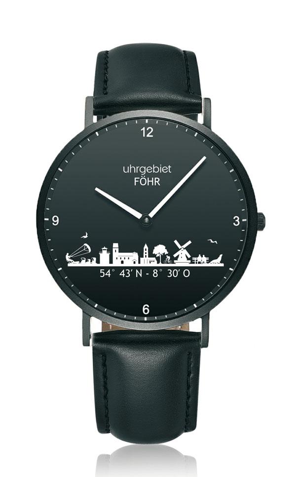 Uhrgebiet Föhr Föhr All Black