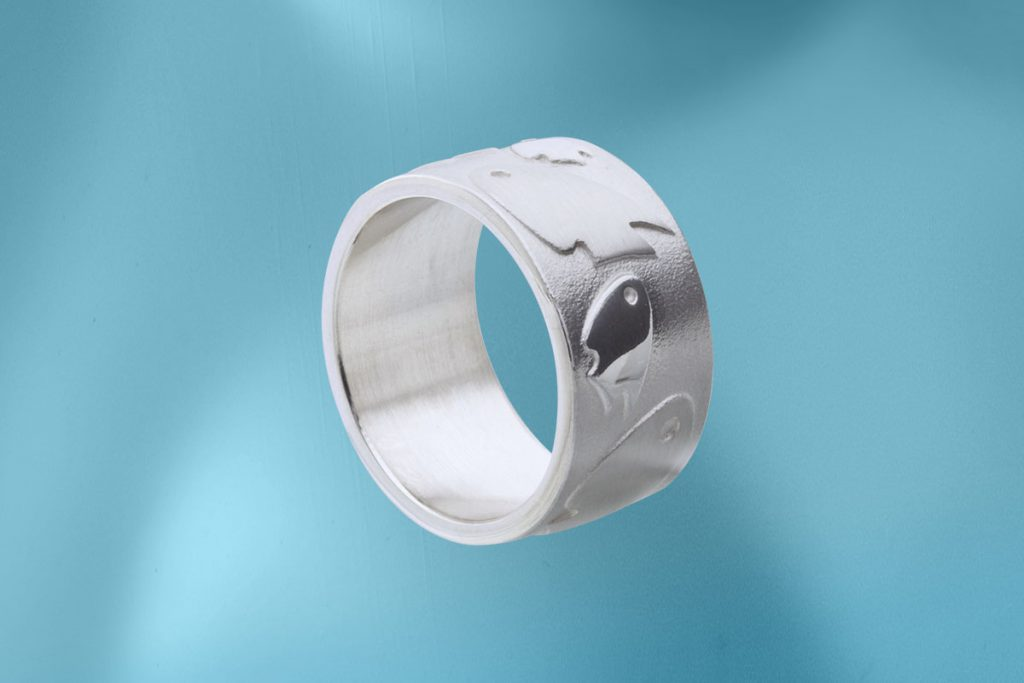 Jo's Inselfische, Ring, Silber